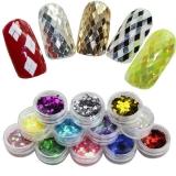 3D блестки ромбики для дизайна ногтей!!! 1 шт 40 сом