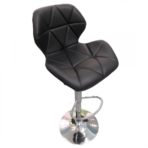 Барный стул для визажиста на гидравлике (белый и черный)