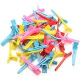 Зажим мал пластиковые в упак 80шт