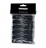 Зажим Toni&Guy Soft Touch прорезиненный 12 шт