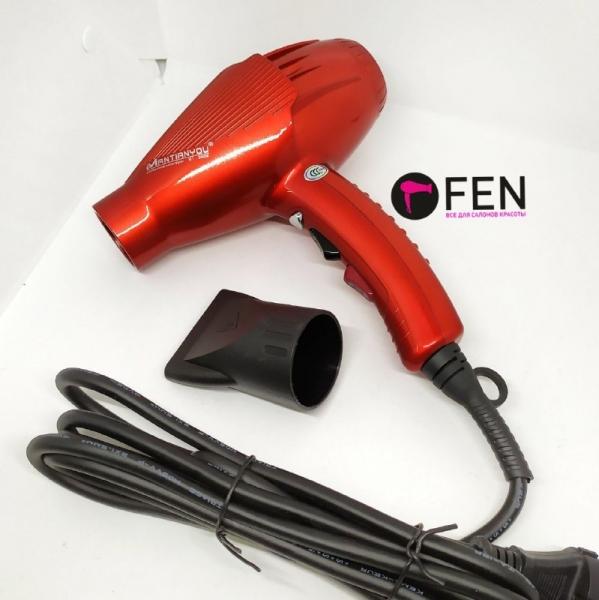 Профессиональный фен для волос MANTIANYOU M-1 Красный