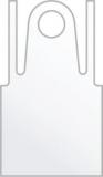 Фартук Полиэтилен серебро 120х70 25 шт/уп