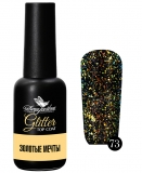 ТОП С ГЛИТТЕРОМ. GLITTER TOP COAT DONA JERDONA «ЗОЛОТЫЕ МЕЧТЫ»