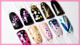 Комифубики для ногтей в ассортименте