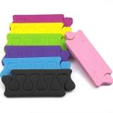 Разделители для пальцев ног - растопырки для маникюра и педикюра 2 шт в упаковке