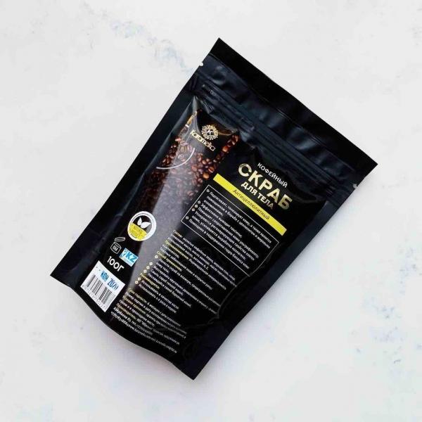 Кофейный скраб для тела Karamelka