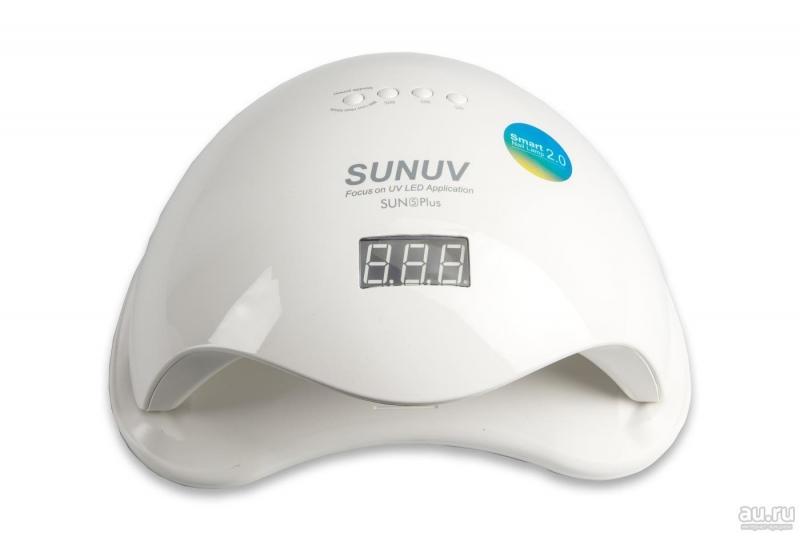 УФ ЛЕД Лампа SUN 5 PLUS 48 Вт. smart 2.0 (ОРИГИНАЛ) гарантия 3 месеца